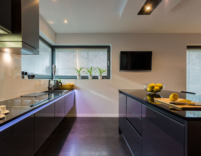 we can provide you with a modern kitchen